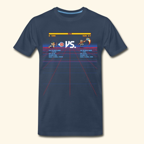 A 500 VS. 520 ST - Men's Premium T-Shirt