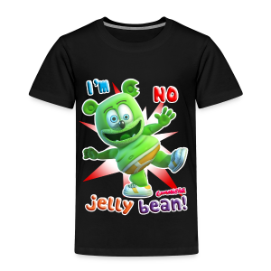 Gummibär (The Gummy Bear) I'm No Jelly Bean Toddler T-Shirt - Toddler Premium T-Shirt