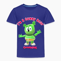 I'm A Gummy Bear Toddler Shirts