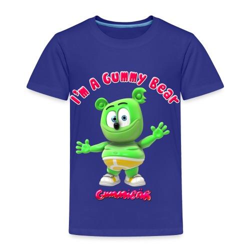 I'm A Gummy Bear Toddler T-Shirt - Toddler Premium T-Shirt