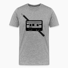 Cassette Audio Tape Pencil Relationship T-Shirts