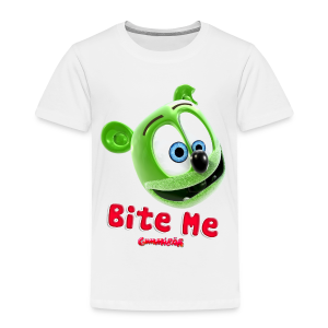 Gummibär (The Gummy Bear) Bite Me Toddler T-Shirt - Toddler Premium T-Shirt