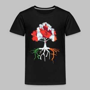 Canada Irish Rooted - Toddler Premium T-Shirt