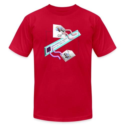 reblog ?? the Alaké SHilling Tshirt - Men's  Jersey T-Shirt