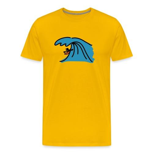 Big wave - Men's Premium T-Shirt