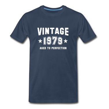 VINTAGE 1979 - Birthday T-Shirt WN