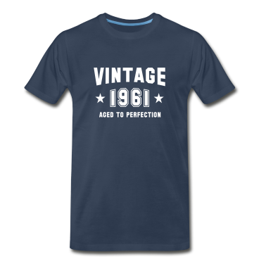 VINTAGE 1961 - Birthday T-Shirt WN
