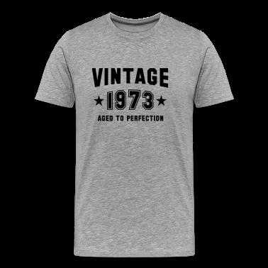 VINTAGE 1973 - Birthday T-Shirt BH