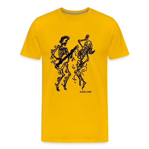 Dancing Skeletons - Men's Premium T-Shirt