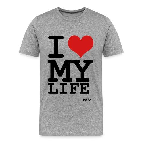 I Love My LIfe YFS - Men's Premium T-Shirt