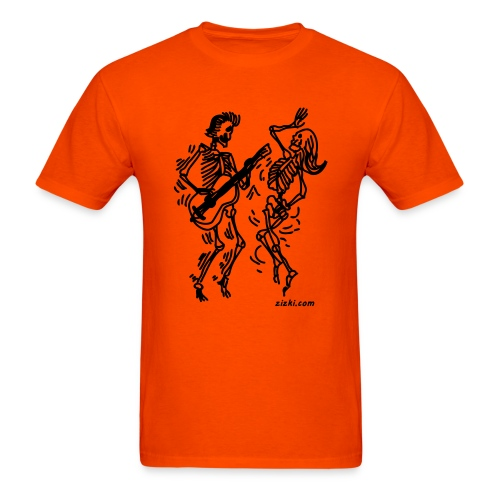 Dancing Skeletons - Men's T-Shirt