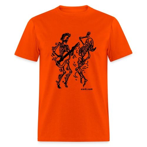 Dancing Skeletons - Men's T-Shirt