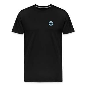 Men's Single-Sided Logo Tee (Heavy Weight) - Men's Premium T-Shirt