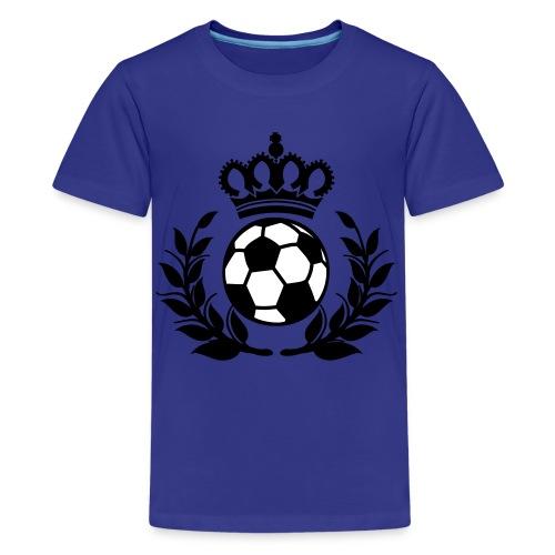 Kids Soccer Crown T-Shirt - Kids' Premium T-Shirt
