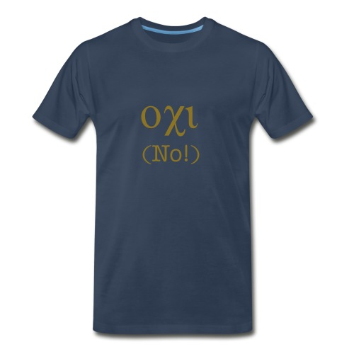 Ohi! (No!) - Men's Premium T-Shirt