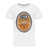 Baby & Toddler Shirts ~ Toddler Premium T-Shirt ~ DWD Beer Label