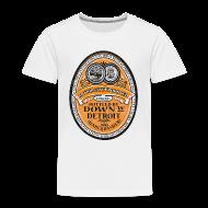 Baby & Toddler Shirts ~ Toddler Premium T-Shirt ~ DWD Beer Label