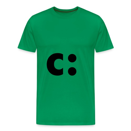 c: Tee (Green) - Men's Premium T-Shirt
