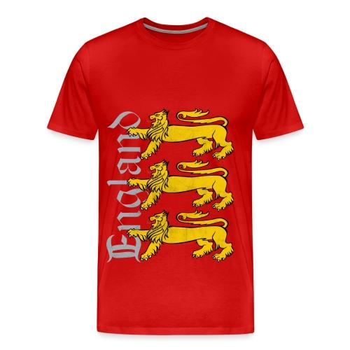 England Euro 2012 - Confidence - Men's Premium T-Shirt
