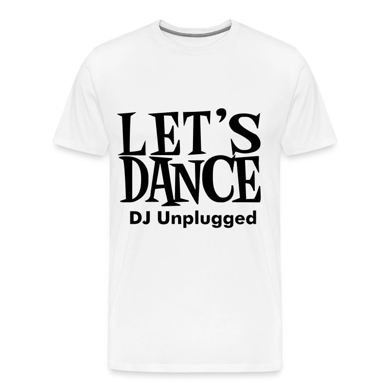 LETS DANCE  - Men's Premium T-Shirt