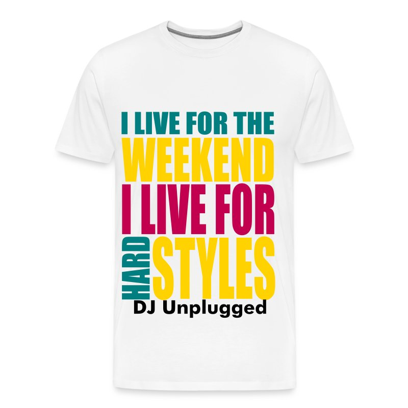 I Live For The Weekend (3 color) - Men's Premium T-Shirt