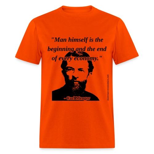 Carl Menger - Man and Economy - Men's T-Shirt