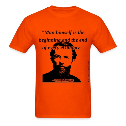 Carl Menger - Man and Economy - Men's T-Shirt