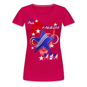 An American Mom - Women's Premium T-Shirt