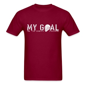 My Goal Is To Deny Yours (Lax) Men's Heavyweight T-Shirt - Men's T-Shirt