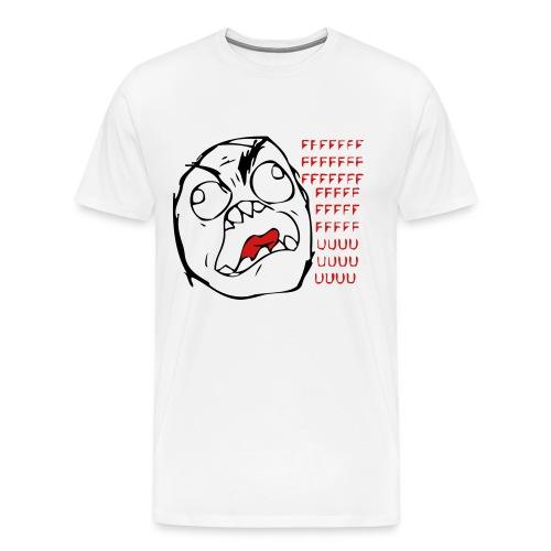 FUUUU... - Men's Premium T-Shirt