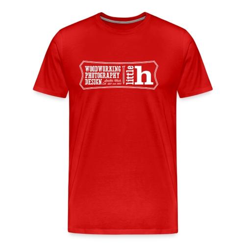 little h logo - men's - Men's Premium T-Shirt