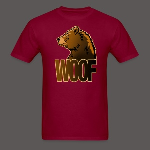 BEAR WOOF - Men's T-Shirt