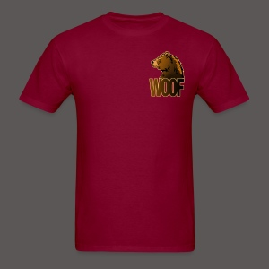 BEAR WOOF 2 - Men's T-Shirt