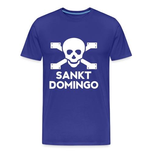 Men's 'Sankt Domingo' St Pauli t-shirt (blue) - Men's Premium T-Shirt