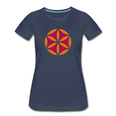 Flower of Aphrodite, 2c, Symbol of  love, beauty and transformation, Power Symbol, Talisman Women's T-Shirts