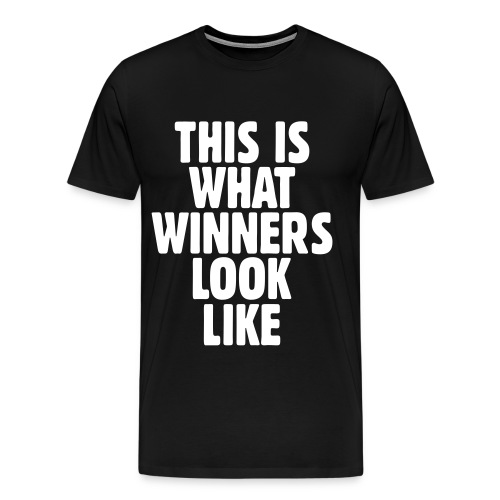 This is what winners look like - Men's Premium T-Shirt