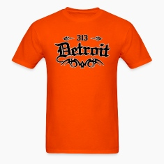 Detroit 313 Heavyweight T-Shirt