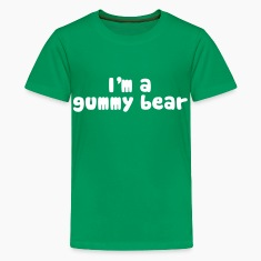 I'm A Gummy Bear Lyrics Kids' Shirts