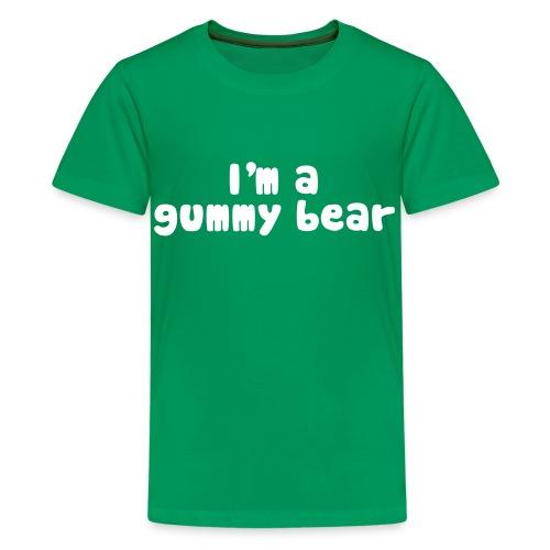 I'm A Gummy Bear Lyric Kids' T-Shirt - Kids' Premium T-Shirt
