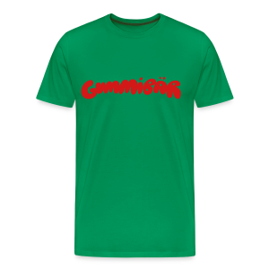 Gummibär Logo Men's 3XL & 4XL T-Shirt - Men's Premium T-Shirt