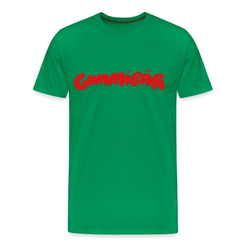 Gummibär (The Gummy Bear) Logo Men's 3XL & 4XL T-Shirt - Men's Premium T-Shirt