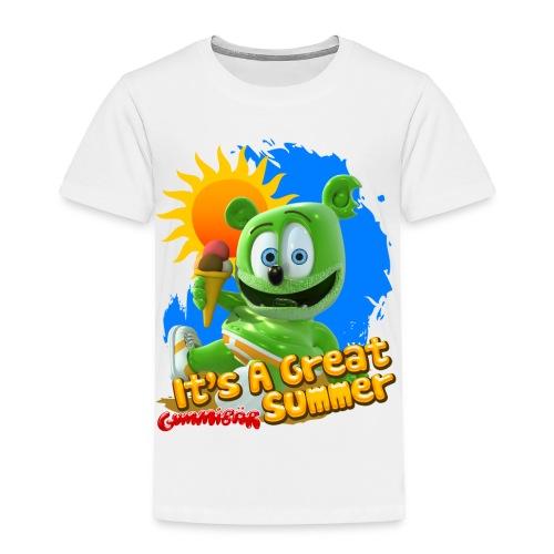 Gummibär (The Gummy Bear) It's A Great Summer Toddler's T-Shirt - Toddler Premium T-Shirt