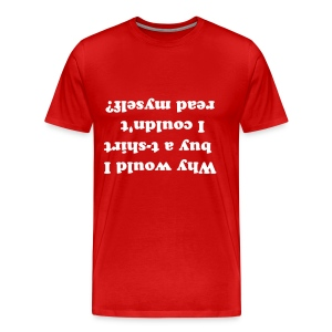 Readable t-shirt - Men's Premium T-Shirt