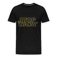 T-Shirts ~ Men's Premium T-Shirt ~ Stop Wars