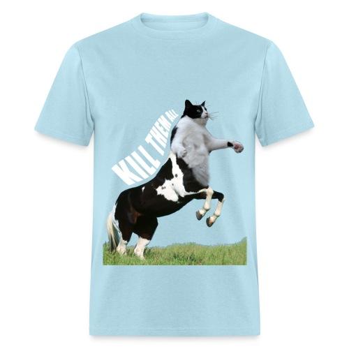 OF Centaur Cat Kill Them All - Men's T-Shirt