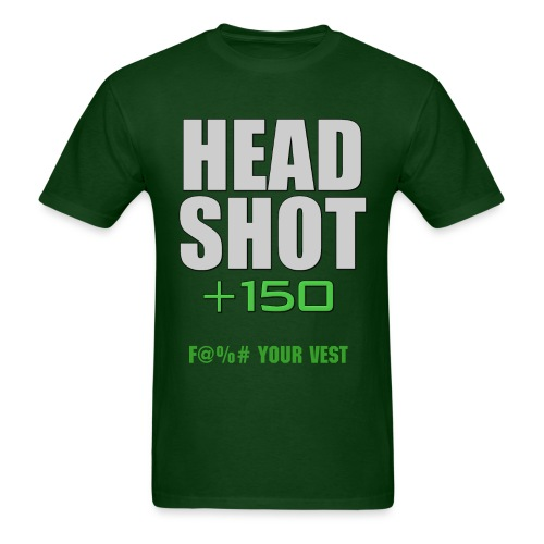 Headshot score - Men's T-Shirt