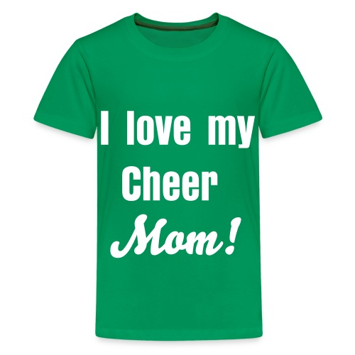Cheer mom - Kids' Premium T-Shirt
