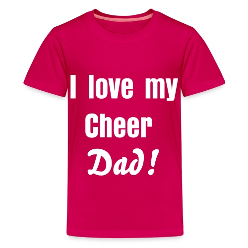 Cheer dad - Kids' Premium T-Shirt
