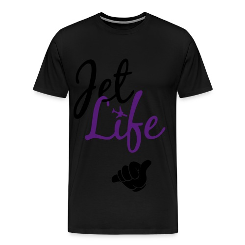 Jet Life T-shirt - Men's Premium T-Shirt