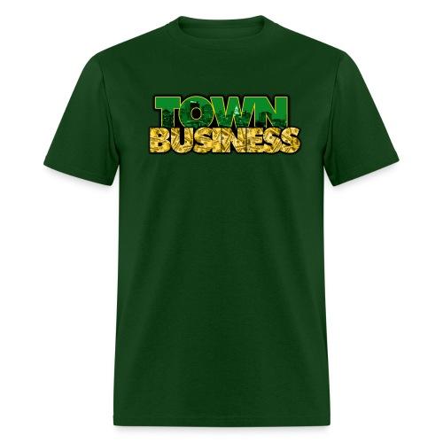 TOWN BUSINESS OAKLAND A'S EDITION - Men's T-Shirt